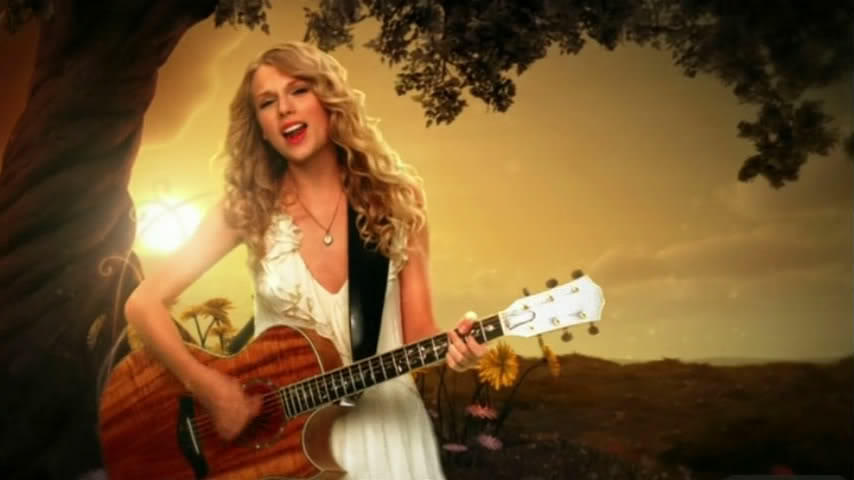 Taylor Swift Fifteen Video Acountry