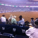Houston Rodeo Chute Seats