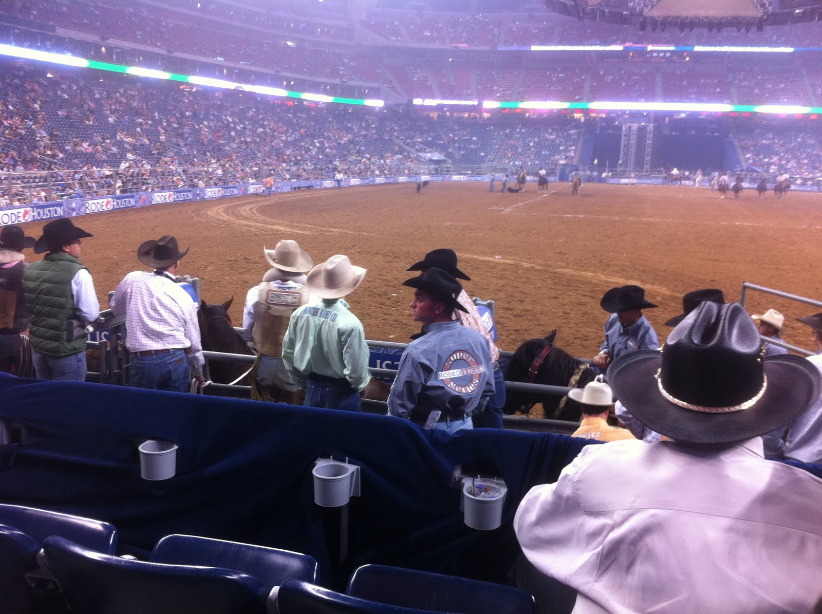 Houston Rodeo Chute Seats Acountry