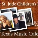 St. Jude 2011 Texas Music Calendar