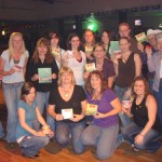 Sugarland Gold and Green Night at Cadillac Ranch