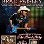 Brad Paisley Tickets : Blossom Music Center : Cuyahoga Falls, OH June 15, 2012