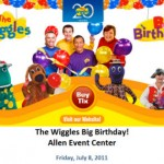 Win The Wiggles Tickets : Allen, TX July 8