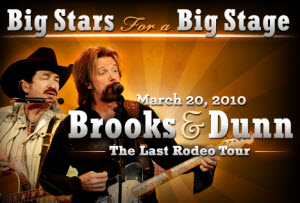 Brooks and Dunn tickets