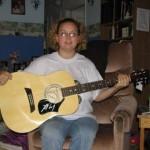 Gary Allan Autographed Guitar Winner