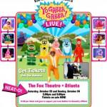 Win Yo Gabba Gabba! Live! Tickets : Fox Theatre : Atlanta
