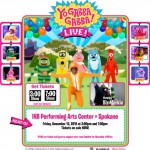 Win Yo Gabba Gabba! Live! Tickets : Spokane Nov. 12