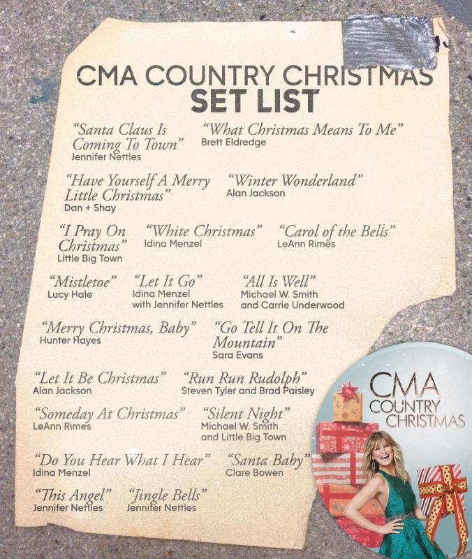 Cma Christmas 2020 Setlist CMA Country Christmas Rebroadcast