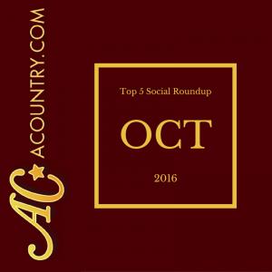 October Top 5 Social