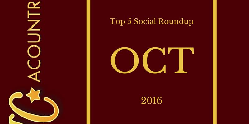 October Top 5 Social Roundup
