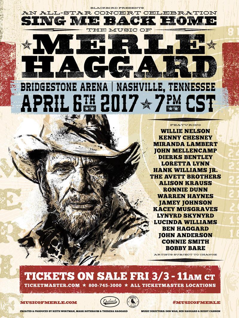 Merle Haggard Tribute Lineup