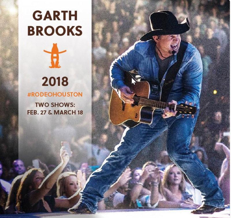 Garth Brooks Houston Rodeo
