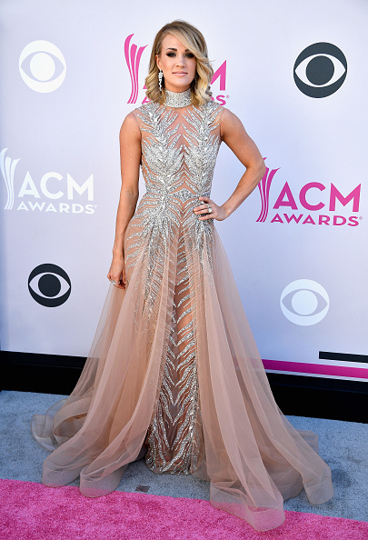 attends the 52nd Academy Of Country Music Awards at Toshiba Plaza on April 2, 2017 in Las Vegas, Nevada.