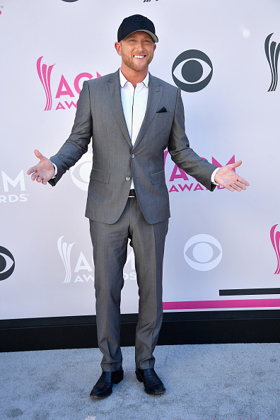 LAS VEGAS, NV - APRIL 02: Recording artist Cole Swindell attends the 52nd Academy Of Country Music Awards at Toshiba Plaza on April 2, 2017 in Las Vegas, Nevada. (Photo by Frazer Harrison/Getty Images)