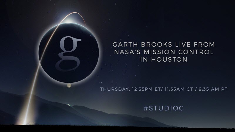 Garth Brooks at NASA