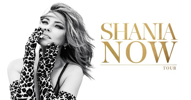 shania now tour