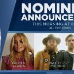 2017 CMA Awards Nominations