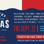 Harvey Can't Mess With Texas Benefit Concert
