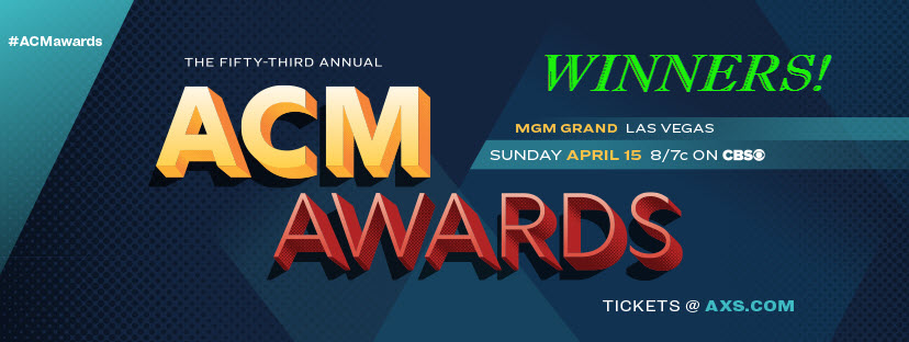 2018 ACM Awards Winners