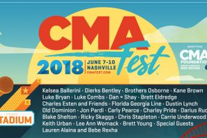 CMA Fest 2018 Lineup