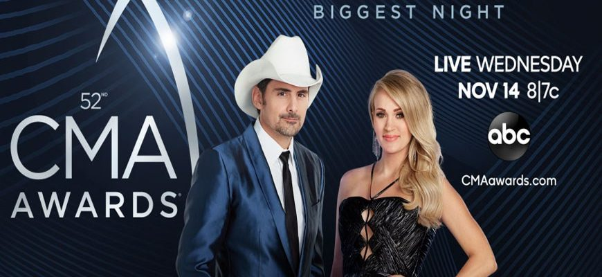 2018 CMA Awards Winners