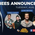 2018 CMA Awards Nominations
