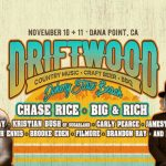 Driftwood at Doheny State Beach 2018 Lineup