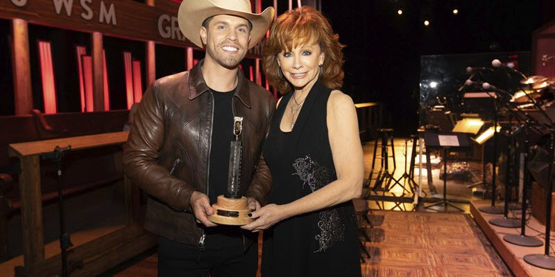 Dustin Lynch Is Newest Grand Ole Opry Member