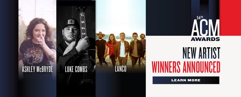 acm awards 2019 new artist winners