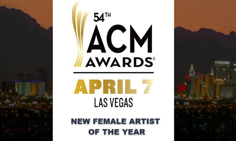 acm awards 2019 new female