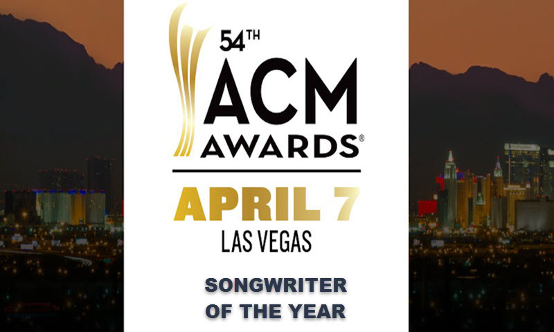 acm awards 2019 songwriter