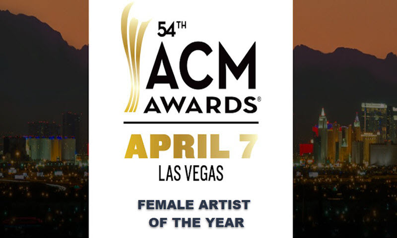 acm awards 2019 female