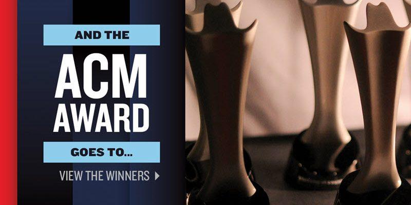 2019 ACM Awards Winners