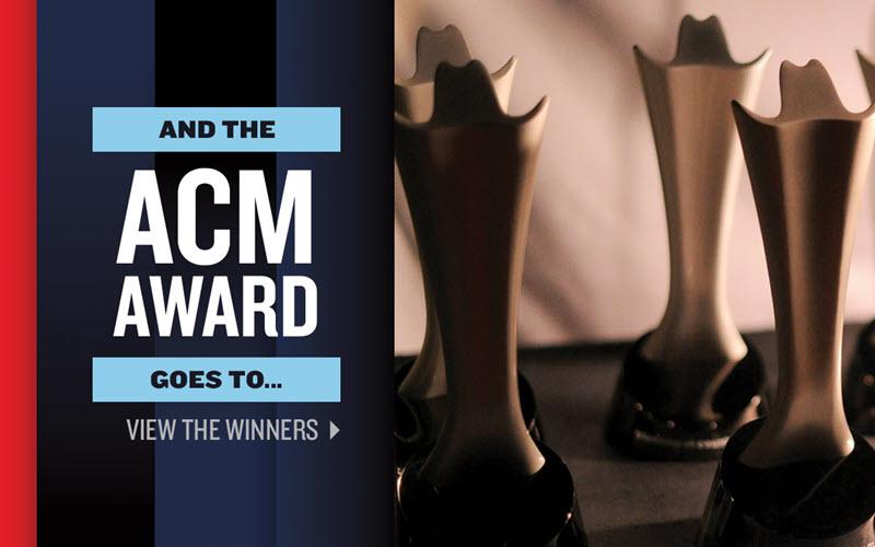 ACM Awards winners