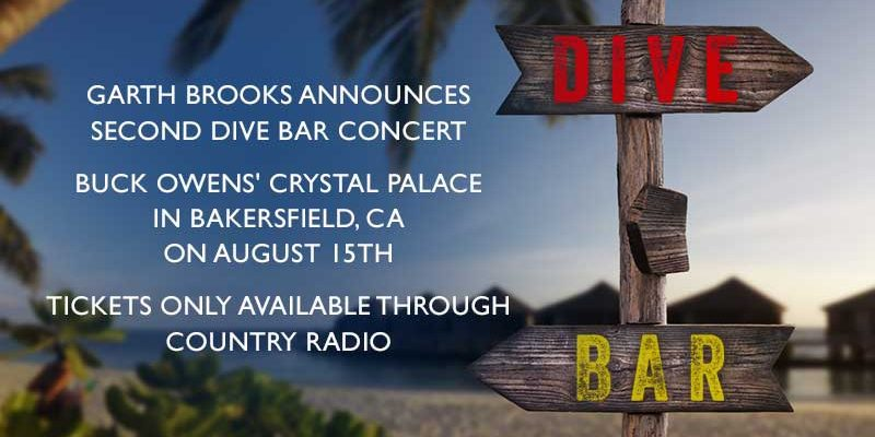 Garth Brooks Bakersfield Dive Bar Concert