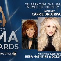 Carrie, Reba, and Dolly to Host CMA Awards