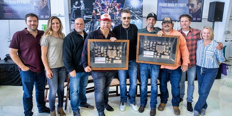 Eric Church Celebrates Two #1 Songs