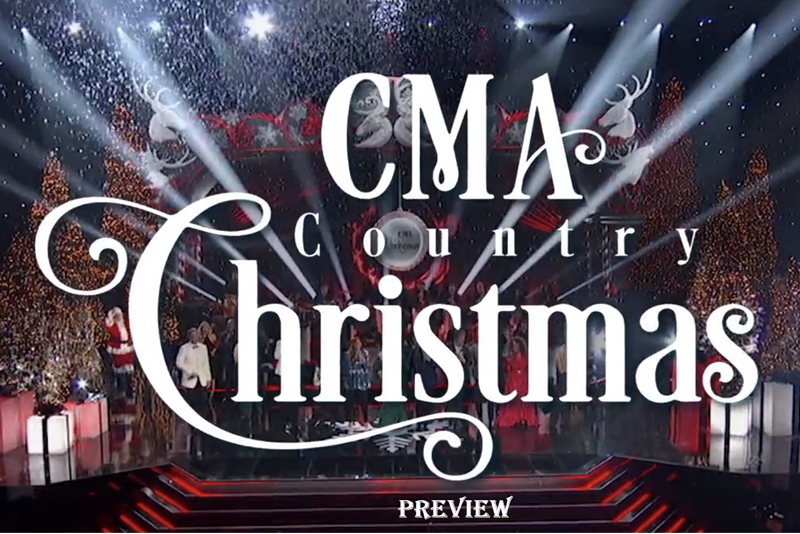 CMA Country Christmas Preview