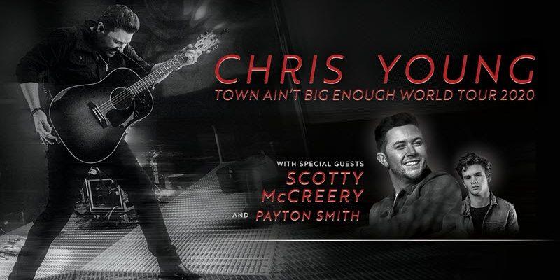 Chris Young Town Ain't Big Enough World Tour 2020