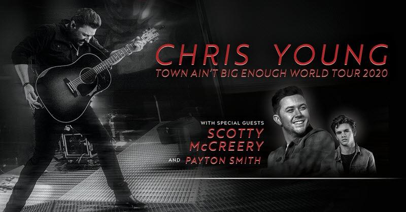 chris young town aint big enough world tour