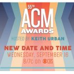 ACM Awards New Date : Sept 16