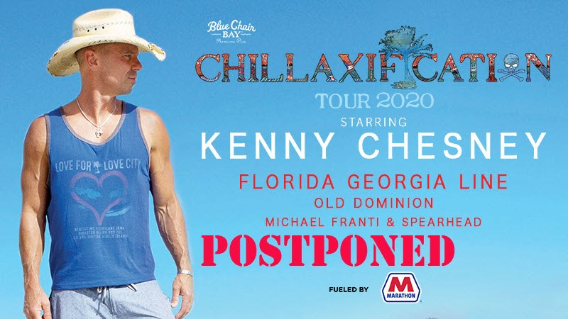 kenny chesney tour postponed