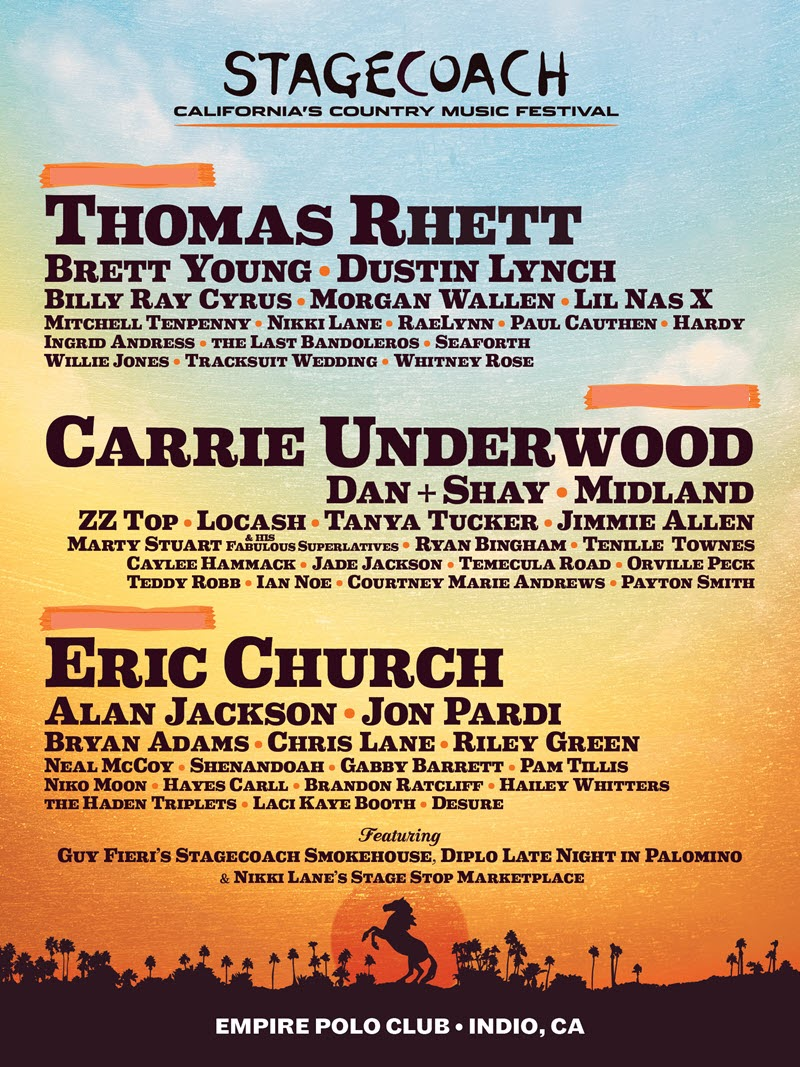 stagecoach lineup 2020