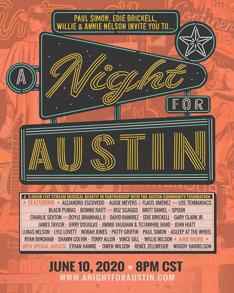 A Night for Austin Lineup