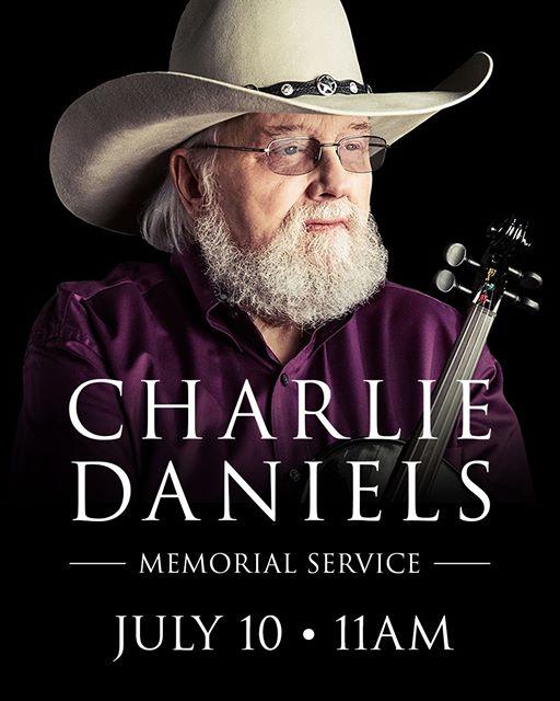 Charlie Daniels memorial service