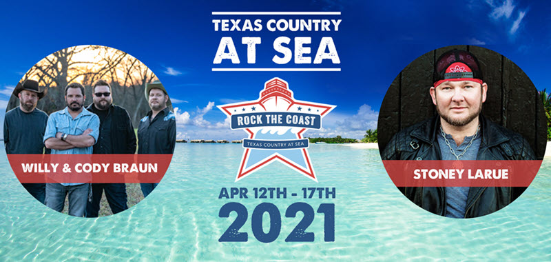 Rock The Coast : Texas Country At Sea