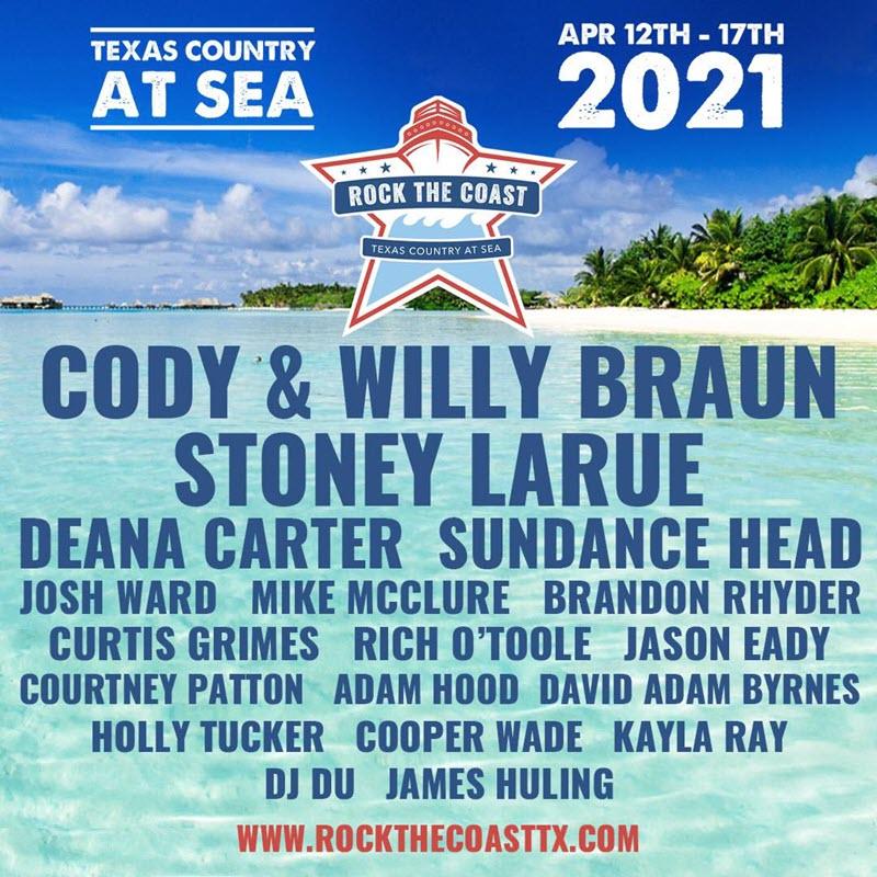 Texas Country At Sea Lineup