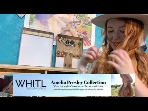 The Amelia Presley Collection By WHITL Woodworking