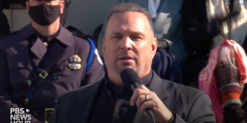 Watch Garth Brooks Perform Amazing Grace at Biden Inauguration
