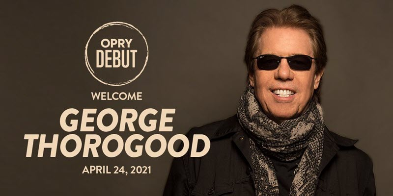 George Thorogood Opry Debut